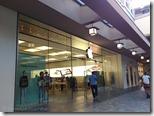 アラモアナセンター内の Apple store