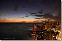 街の明かりが煌き出す時間(後日撮影分)