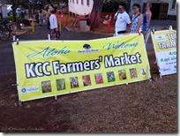 KCC Farmers' Market の入り口