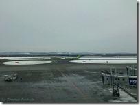 新千歳空港 フードコートからの景色